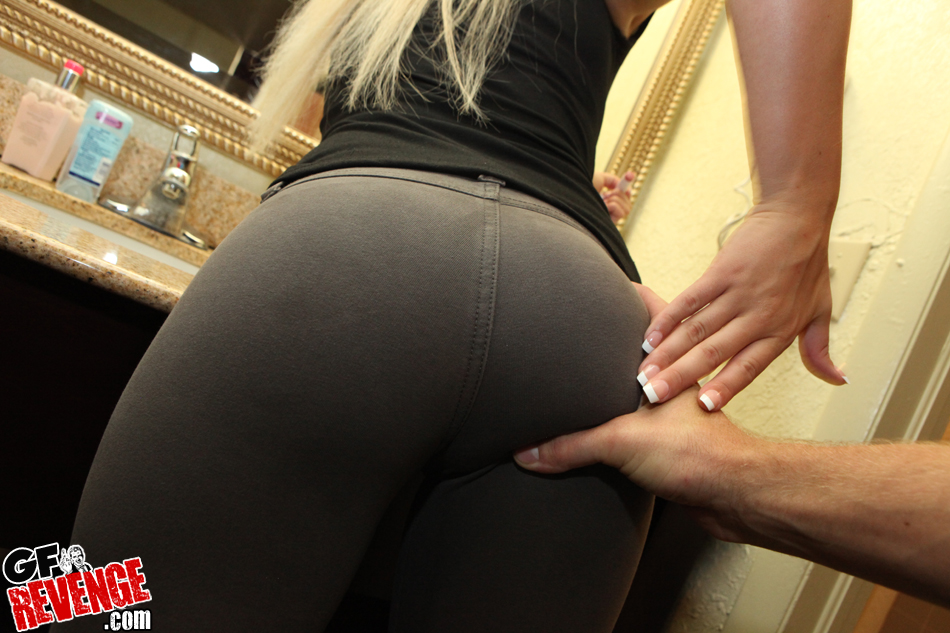 Agree, Yoga pants ebony porn any